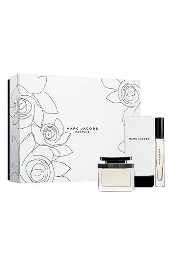Free shipping and returns on MARC JACOBS WOMAN Gift Set ($170 Value) at Nordstrom.com. Give her a gift that celebrates beauty and elegance. Gift set includes eau de parfum spray (3.4 oz.), body lotion (5.1 oz.) and eau de parfum rollerball (0.34 oz.).