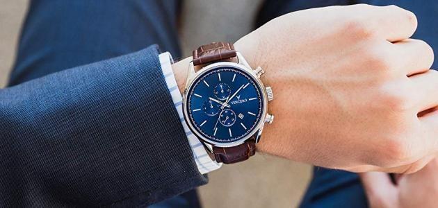 ما تفسير رؤية ساعة اليد في المنام لابن سيرين موقع مصري In 2021 Leather Accessories Leather Watch