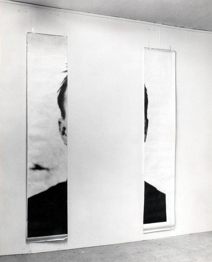 michelangelo pistoletto,the ears of jasper johns,1966