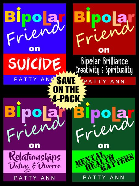 From suicide, relationships, dating, divorce, creativity, spirituality and mental health matters, plus much more. This 4-book bundle does not hold back.