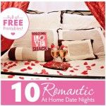 10 Romantic At Home Dates
