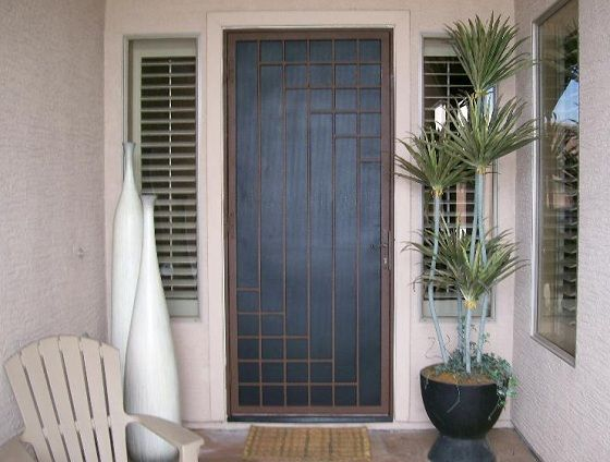 a less-than-ugly (which is about as good as you can get) Security Screen Door