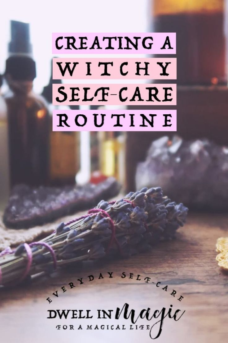 Witchy Selbstpflegeroutine   – Mystical