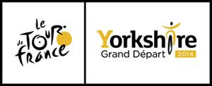 Welcome to Yorkshire and Tour de France logo for 2014.