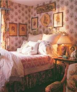 Victorian bedroom.