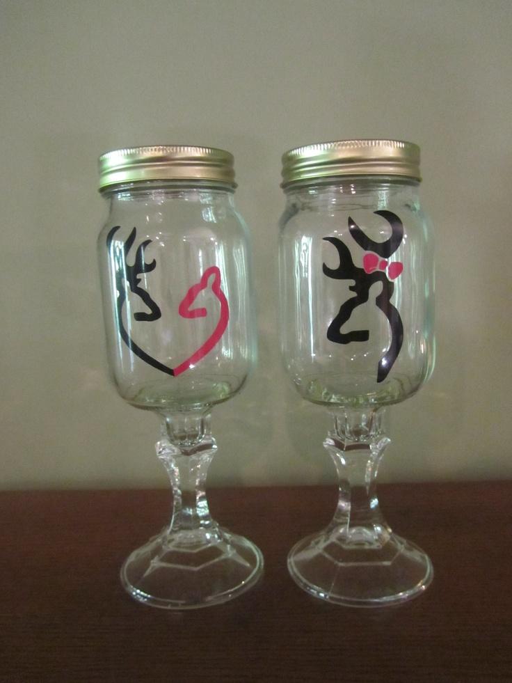 25 best ideas about mason jar wine glass on pinterest glass paint glass bottle crafts and - Mason jar goblets ...
