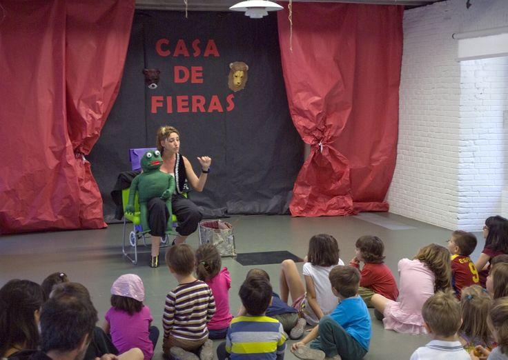 Actividades infantiles en la Biblioteca Eugenio Trias. Foto © Jorge Aparicio/ FLM14