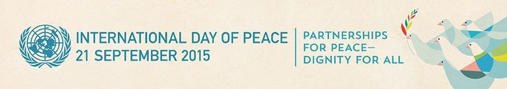 International Day of Peace, 21 September