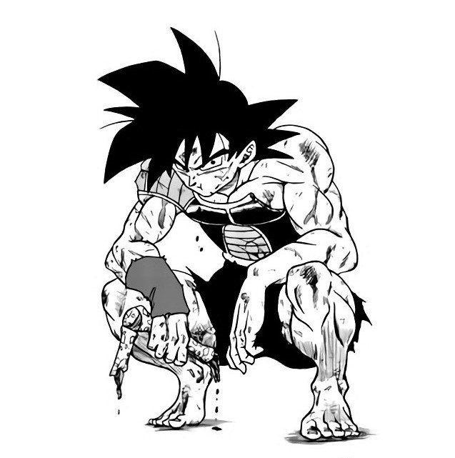 Dragon Ball Bardock Dibujos Personajes De Dragon Ball Dragon