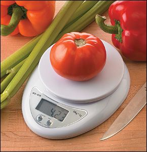 Mini Digital Kitchen Scale - Lee Valley Tools