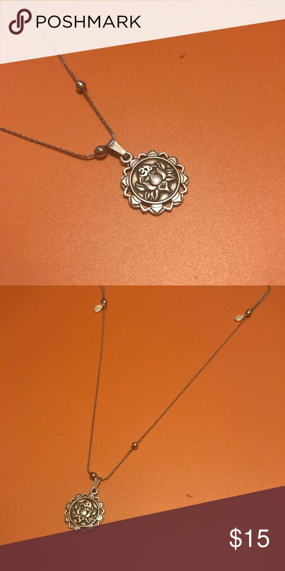 Alex and Ani Lotus Peace Petals Necklace Only worn once! Silver finish Alex & Ani Jewelry Necklaces