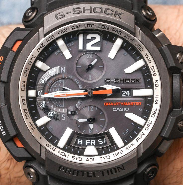 Casio G-Shock Gravitymaster GPW2000 GPS Bluetooth Watch Hands-On