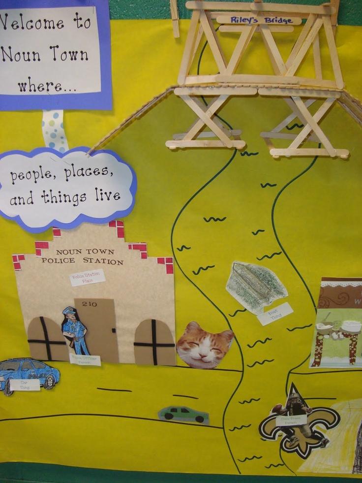 A First Grade Fairy Tale - Noun Town