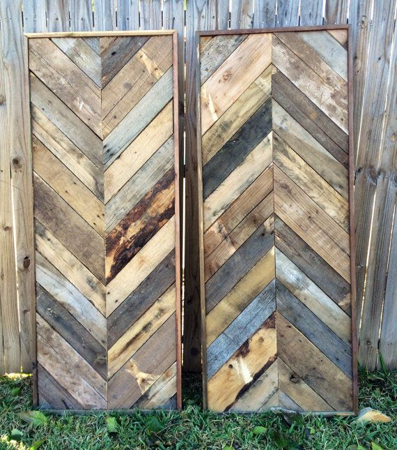 Reclaimed Wood Wall Art barn wood reclaimed by DallasFarmhouse
