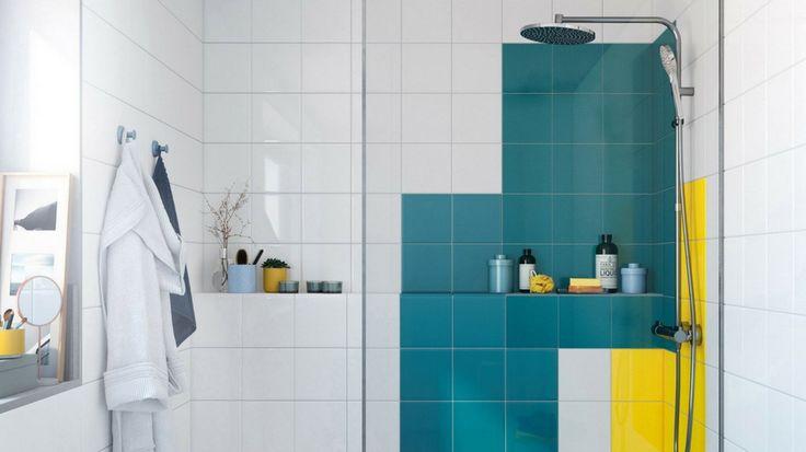 R nover sa salle de bains sans casser son ancien carrelage diy deco brico relooking - Renover salle de bain sans casser carrelage ...