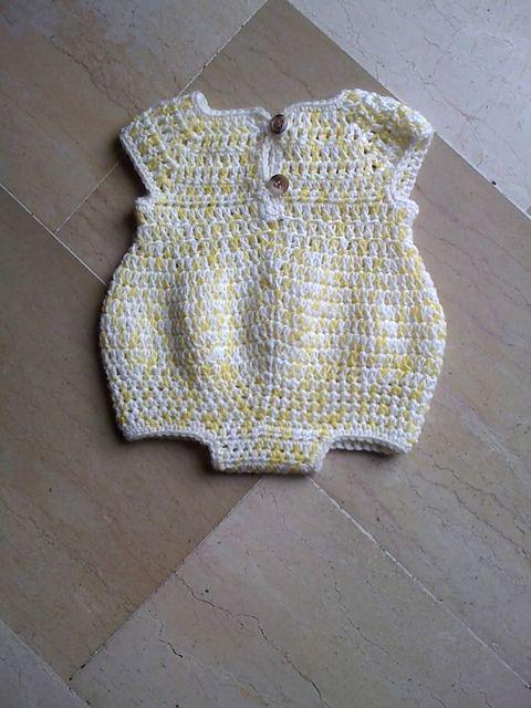 Ravelry: Newborn Romper pattern by Joanne Holt
