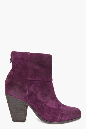 RAG & BONE Classic Newbury Booties    Own in black but would love the purple suede.  They are so comfortable.