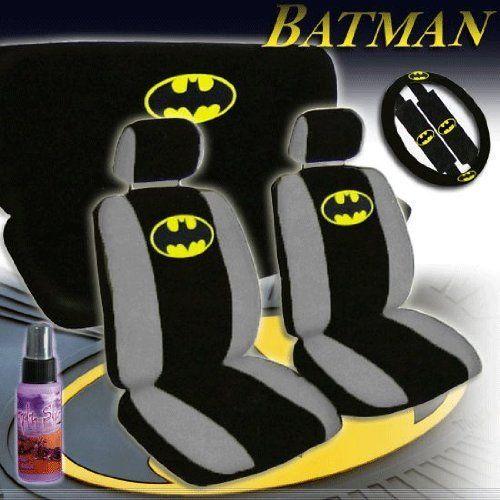 Batman Classic Logo Car Seat Cover Set