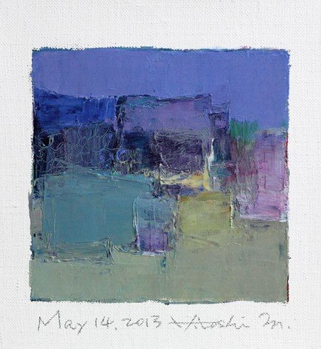Hiroshi Matsumoto 9x9 Painting Abstract   Color Painting Art   Social Blog   Color Paintings   Chinese Culture