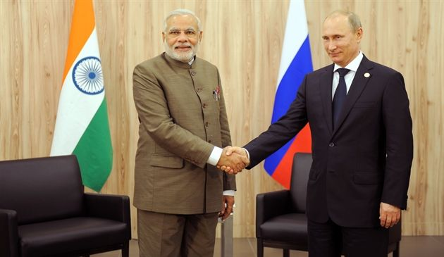 PM with the Russian President Putin