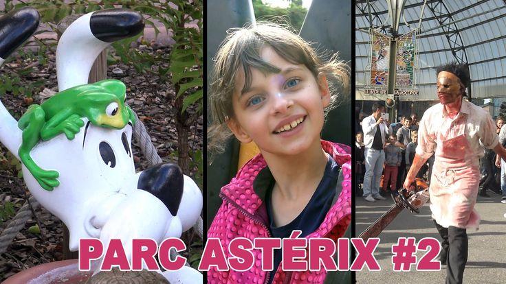Kalys s'amuse au Parc Astérix (partie 2) durant laquelle elle participe à l'avant-première de la Maison de la Peur, attraction éphémère durant Halloween :) A...