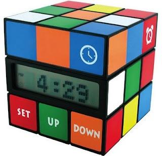 Rubik's Cube Alarm Clock