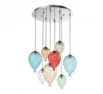 CLOWN SP8 100944 NOWOCZESNA LAMPA IDEAL LUX
