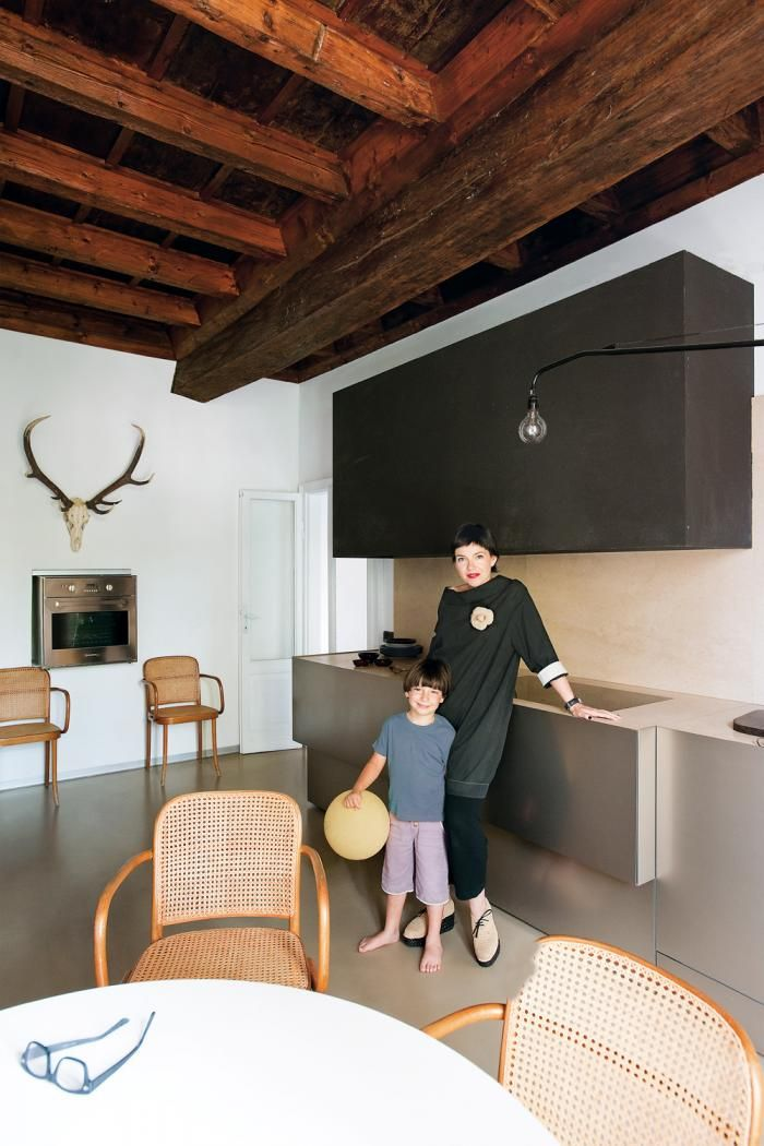 A Family House in Mantua, Italy : Remodelista