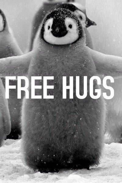 "I here by declare every Friday is Free Hug Friday.  P.s. I'm giving a ""hug"" to anyone who see's this.✌️"