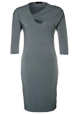 Vestito di maglina - grigio