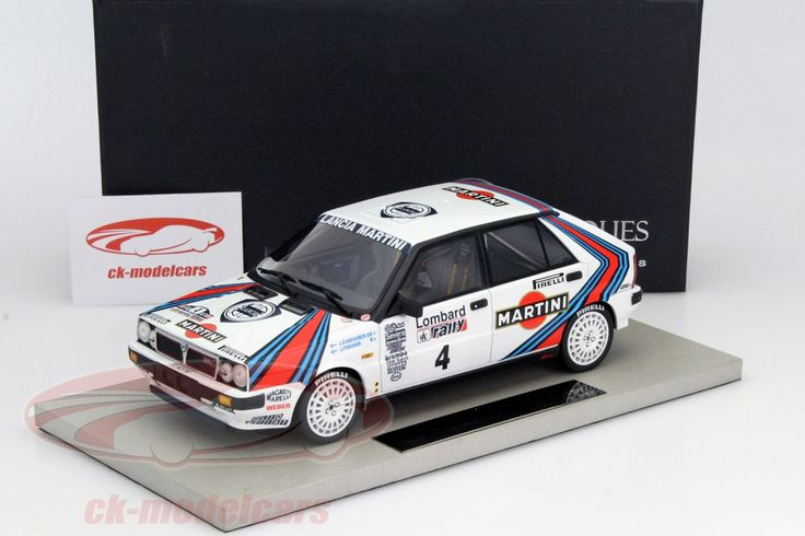 Lancia Delta 4WD, Winner RAC Rally 1987, No.4, J.Kankkunen / J.Piironen. Top Marques, 1/18. Price (2016): 180 EUR.