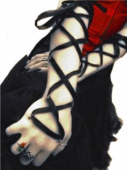 arm corset piercing
