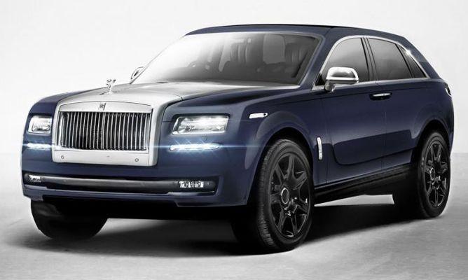 BMW Reveals Rolls-Royce Cullinan Aka Bentayga