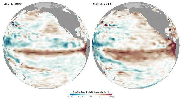 El Nino alert from down under; Mars webcam captures more than weather: Oregon weather watch | OregonLive.com