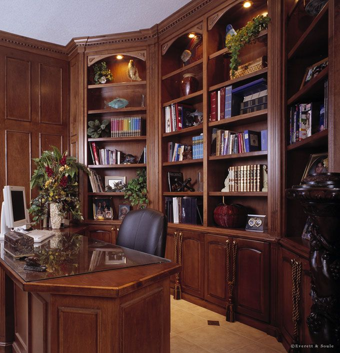 20 Home Office Bookshelves Designs Ideas: 20 Best Home Office Spaces For Creative Places Images On