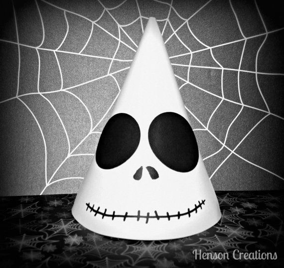 Nightmare Before Christmas Birthday Party: 10 Disney Inspired Jack Skellington Party Hats