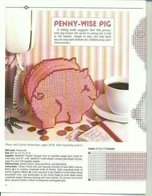 228 best Banks images on Pinterest  Plastic canvas patterns