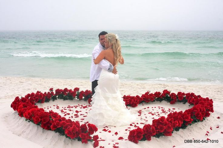 Destin beach wedding packages : Florida beach weddings : Gulf Shores Beach Weddings : Navarre Beach Weddings