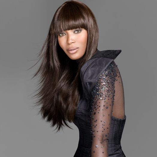 Naomi Campbell l Haircut is cute & dress is TOTALLY GORG!!!