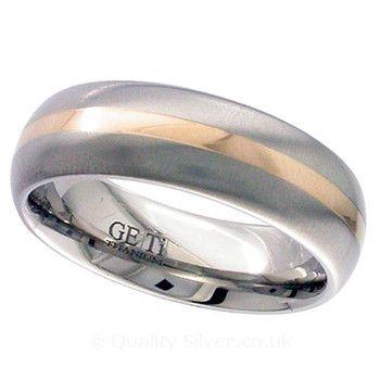 Geti Titanium and Rose Ring