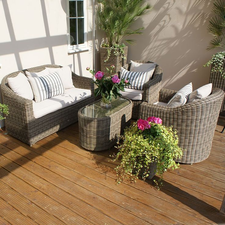 maze rattan winchester rounded sofa set sofa sets