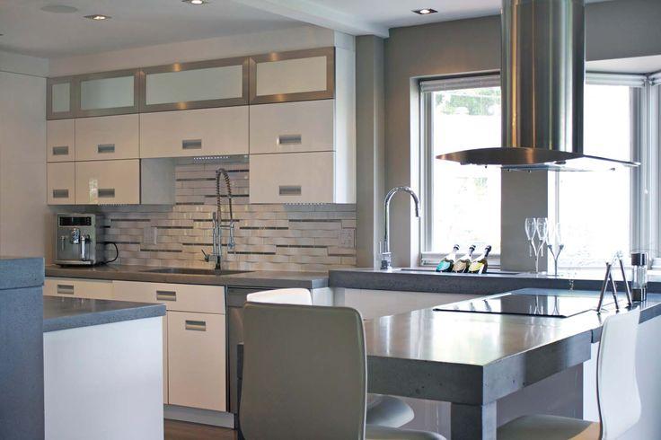 dosseret de cuisine moderne recherche google cuisine quip e pinterest dosseret de. Black Bedroom Furniture Sets. Home Design Ideas