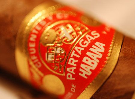 My quotidian cigar: The Partagas cigar brand is one of the most renowned and among the oldest Cuban cigar brands when it was established in 1845 by Don Jamie Partagás in Havana.