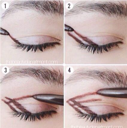 very easy smokey eye make up trick  smoky eye makeup