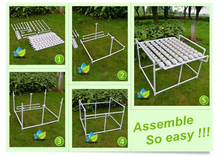 Aliexpress.com : Buy Free shipping hydroponic balcony one side 8 pipe72plants soilless PVC pipe plant pot Balcony hydroponics system to grow from Reliable equipment laser suppliers on taio hydroponics kit