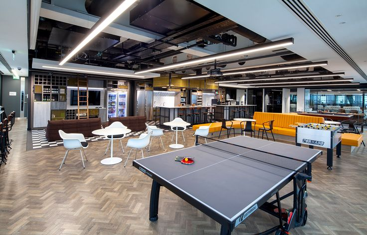 Aldworth James & Bond | The Leadenhall Building | Pantry and AV area for new office fit out