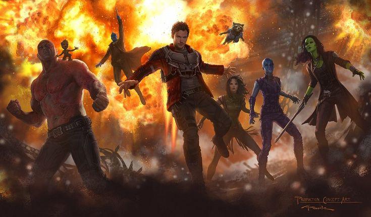 Guardians of the Galaxy Vol 2 Team Concept Art Guardians of the Galaxy 2: Ego the Living Planet Explained