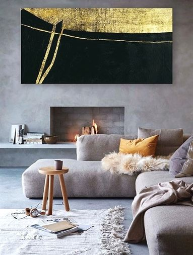 Extra large abstract painting Original canvas wall art