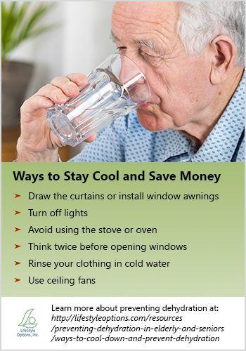 Elderly Hydration Healthy