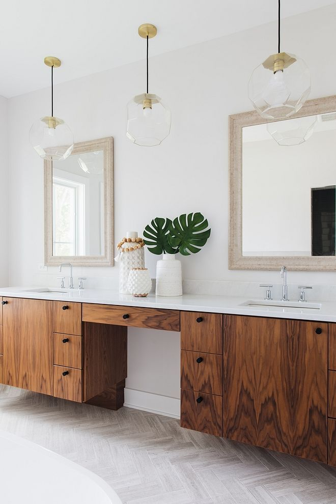 Floating Walnut Bathroom Vanity Bathrooms Bathroom Ideas